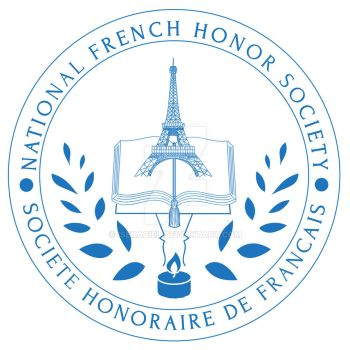 National French Honor Society Graduation Stole by Isekaciel