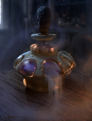 Snow Elves - Potion of mist by RobertoGatto