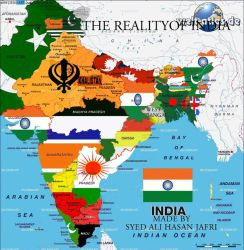 The total dissolution of India. by someone1fy