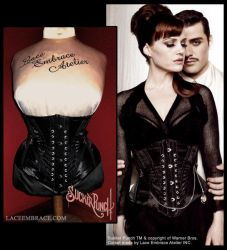 Sucker Punch - Corset by laceembrace
