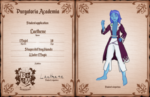 PA: Laethene by RasgarBlue