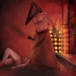 Pyramid Head by Teh-Great-Ippeh