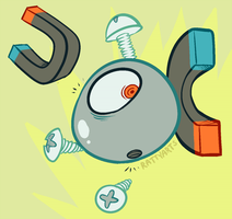 Magnemite by CrazyRatty