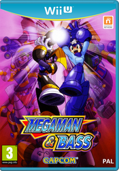 Megaman and Bass Wii U cover by DBurch01