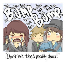 DONT HIT THE SPOODILY DOOS by michielynn