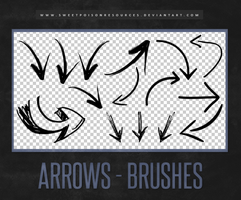 Arrows - Brushes by sweetpoisonresources