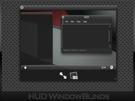 HUD WindowBlinds by nardoxic
