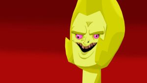 Steven Universe - Yellow Diamond Funny Face by LESHUU