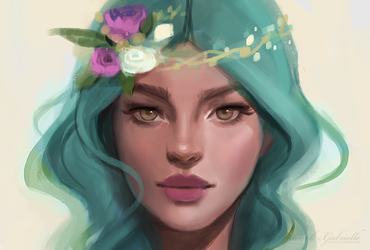Turquoise by GabrielleBrickey