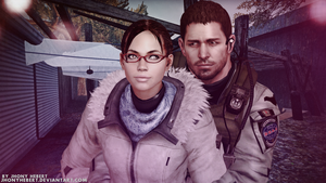 Chris and Sheva in Valentine's Day by JhonyHebert