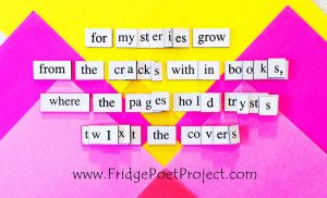 The Daily Magnet #358 by FridgePoetProject