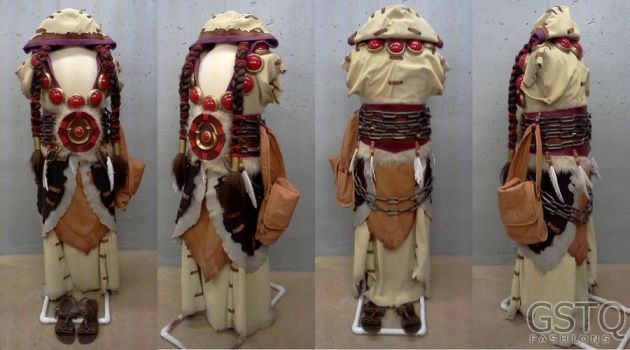 Thrall (Warcraft) Costume by gstqfashions