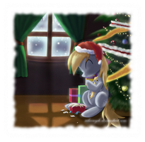 Merry Christmas, Derpy Hooves by ZymonasYH
