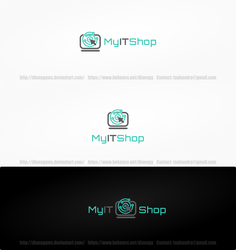IT Logo Concept by DianaGyms