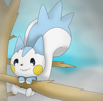 Snowy tree by Charly-sparks