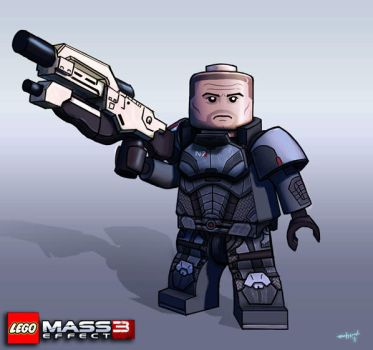 Lego Minifig Concepts: Shepard by Either-Art