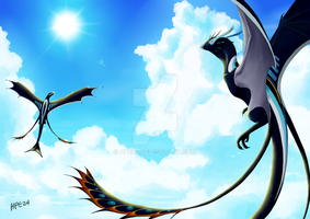Dragon illustration 1 by HPE24