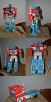 Optimus Prime G1 Papercraft by BHAAD