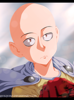 One Punch Man Saitama by kvequiso