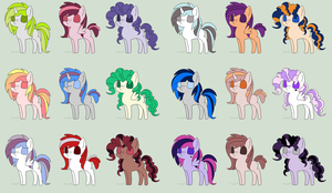 Adopts 4 All!~ :OPEN: by xXLovingponiesXx