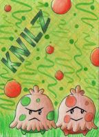ACEO #085 - Kleine Knilze by Elythe