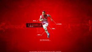 Santi Cazorla by DevilishSoldier