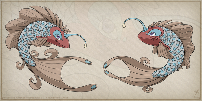 OviPets Piscium Species by thazumi
