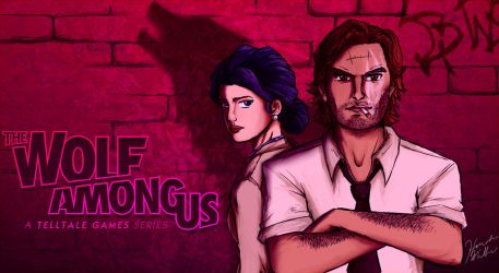 The Wolf Among Us Wallpaper By Trixuqueen On DeviantArt