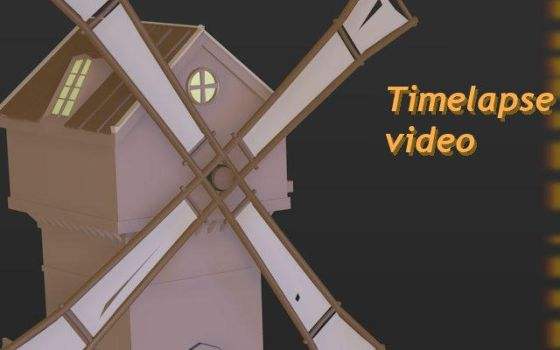 Windmill timelapse video by betasector