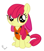 Applebloom Vector (Pinkie Apple Pie) by VendetaTJ
