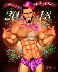 New Years 2018 by TumbledHeroes