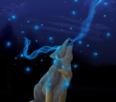 Mystical Pup by WolfehLuff