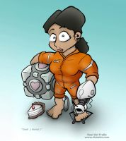 Chell - Portal by Dremin