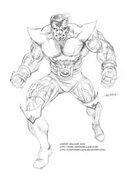 Colossus Pencils by LostonWallace