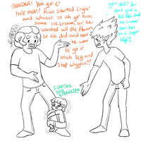 Why Gordie shouldn't babysit by MissPomp