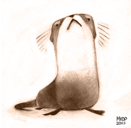River Otter by sketchinthoughts