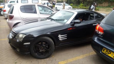 Chrysler Crossfire Front by JMK-Prime
