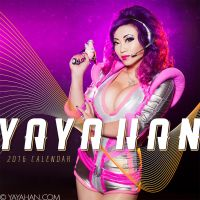 Yaya Han 2016 Cosplay Calendar - Front Cover by yayacosplay
