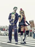 Joker and Harley Quinn by Elis90