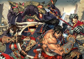 Soul Calibur IV comic cover. by NgBoy