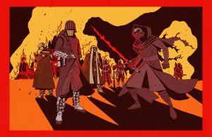 Knights of Ren by ChrisFaccone