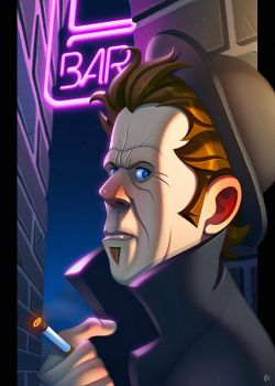 Tom Waits by ubegovic