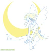 Kiriban for VanMak - Diana the Moon Fairy by KrisRix