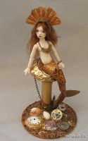 BJD Steampunk Mermaid by miradolls