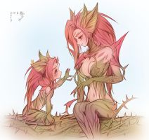 little zyra x zyra by seo-love