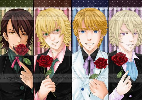Tiger and Bunny Bookmarks by michiika