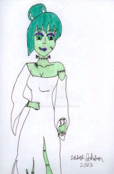 Angelica the Bride of Frankenstein by MewWitch