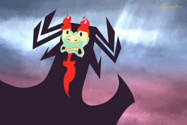 Aku Expressions: When smth goes terribly wrong v2 by GrievousAlien
