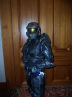 Tex cosplay from Red vs Blue by AzureProps