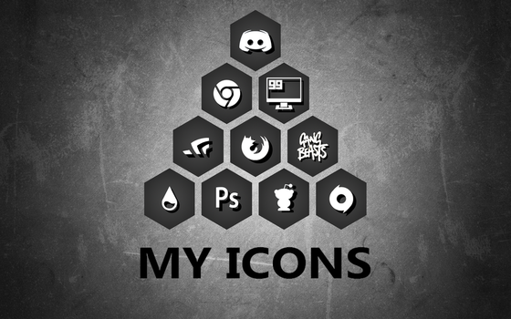 Honeycomb Icons - Made or edited by me. by Dwayne2905